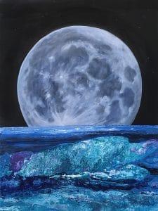 Moon Over Roatan
