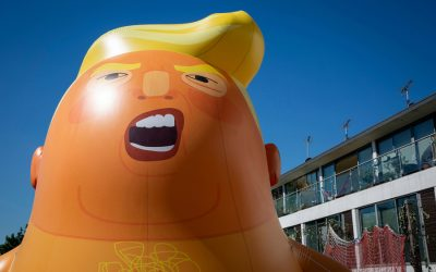 Museum of London Wants Trump Blimp