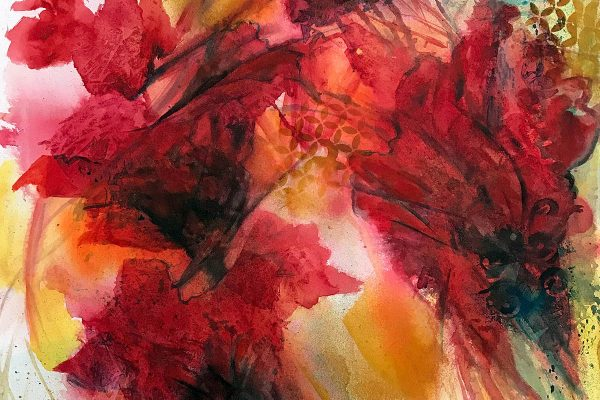 Red Velvet watercolor painting