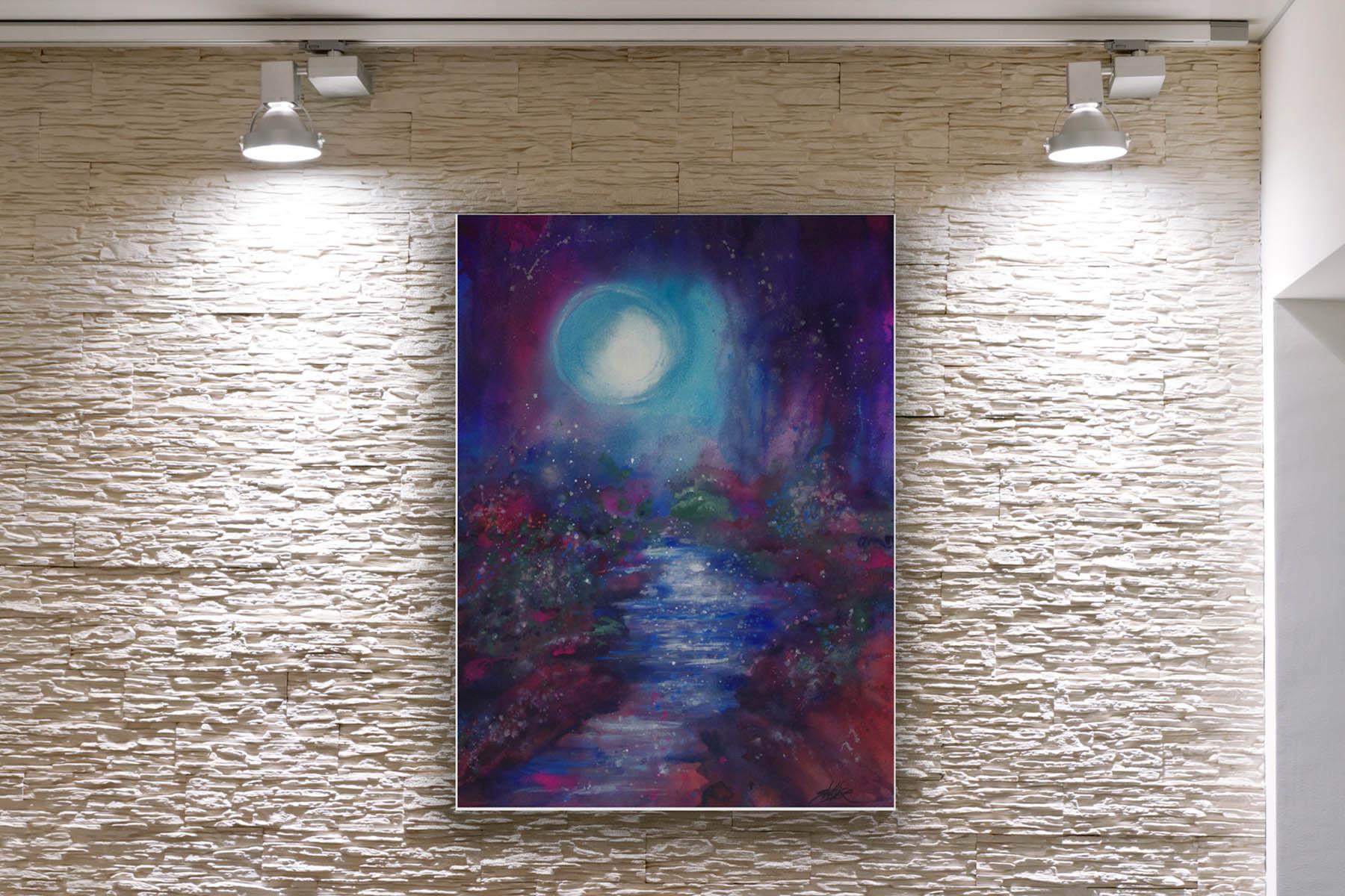 Blue Moonscape