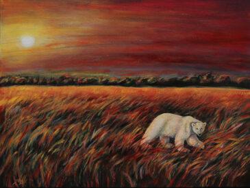 Acrylic Environmental Painting on Canvas
